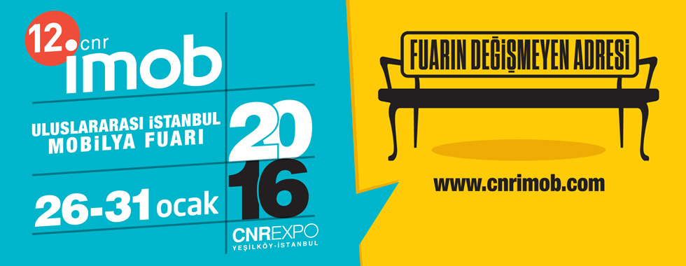 12.CNR İMOB International Istanbul Furniture Fair .9.hall